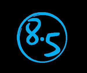 Logo 8 point 5