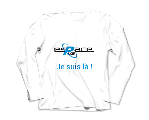 Photo t-shirt personnalisé, Espace Pub Vendée