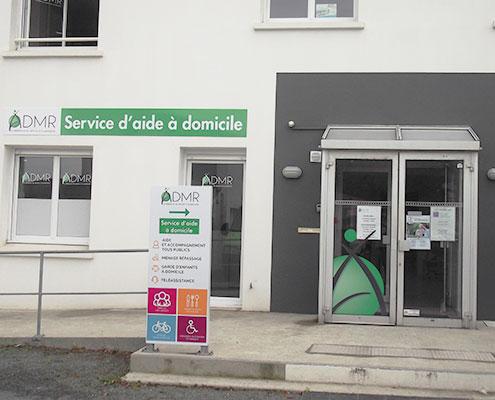 Signalétique et Publicité adhésive ADMR 85, Espace Pub en Vendée